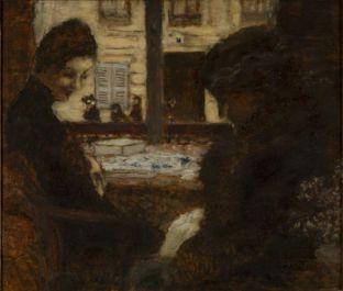 Pierre Bonnard, Chez la brodeuse, vers 1895