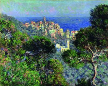 Claude Monet, Vue de Bordighera, 1884