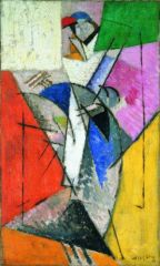 Albert Gleizes La Parisienne (Juliette Roche) 1915