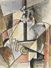 Albert Gleizes Portrait d'un médecin militaire, 1914 – 1915