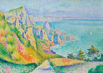 Jean Metzinger Falaises de Longues, 1906
