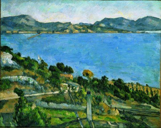 Paul Cézanne, Le Golfe de Marseille vu de l'Estaque, 1878-1879. Huile sur toile, 58 x 72 cm Paris, musée d'Orsay © RMN-Grand Palais (Musée d'Orsay) / Thierry Le Mage