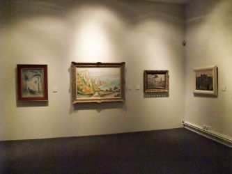 Gleizes et Metzinger avant 1911 - Vue de la salle : Les oeuvres de Metzinger