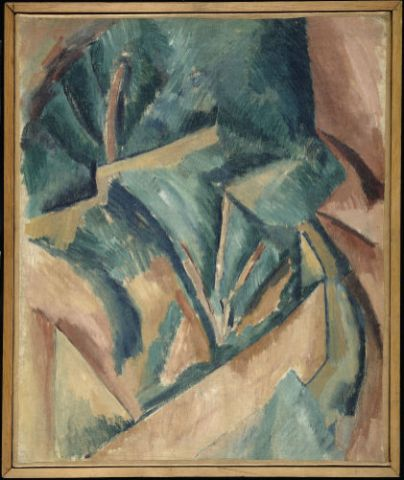 Raoul Dufy, Arbres à l'Estaque, 1908
