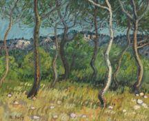 Raoul Dufy, Paysage aux Martigues, 1903