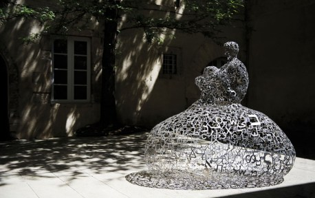 Jaume Plensa, Nuage IV, 2012