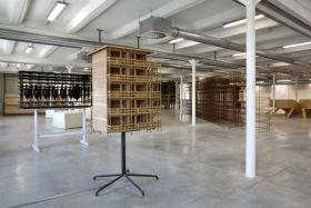 Atelier Van Lieshout, Mini Modular Brothel 20 Units, 2006
