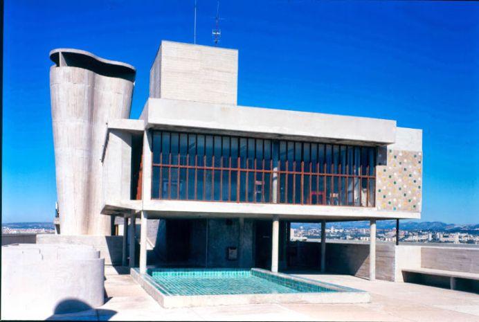 Le Corbusier, Marseille, Unité d'habitation, 1945 ©Paul Koslowski-Fondation Le Corbusier-ADAGP, Paris 2013