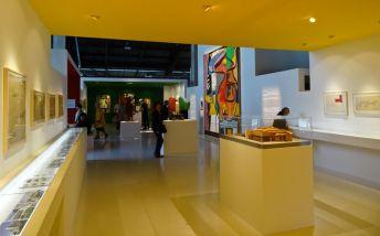 Vue de l'exposition Le Corbusier et la question du brutalisme - Le Volume