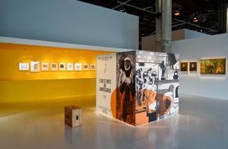 Vue de l'exposition Le Corbusier et la question du brutalisme - Les arts primitifs
