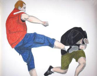 Drawing Romm 013 - Galerie Gourvennec Ogor - Timothée Talard