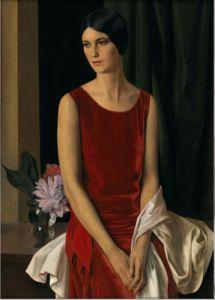 Louis Buisseret, Portrait de Mary Louise McBride (Mme Homer Saint-Gaudens), 1929