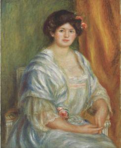 Pierre-Auguste Renaoir, Madame Thurneyssen, 1908