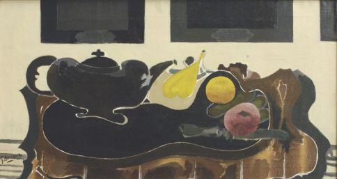 Georges Braque, Nature morte a la théière noire, 1941-1942