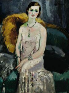 Kees Van Dongen, Femme aux bijoux, 1929