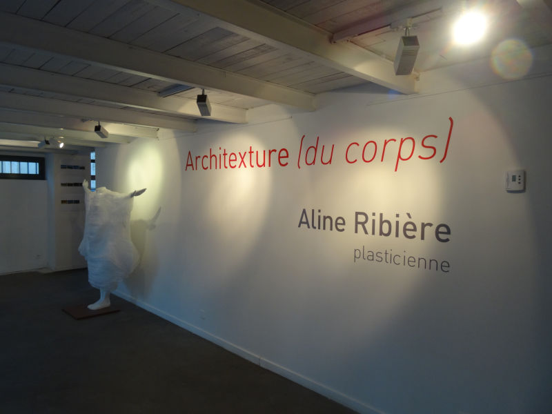 Aline ribi re architexture du corps au centre d art la for La fenetre montpellier