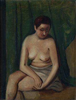 Andre Derain, Femme nue assise, 1928, col