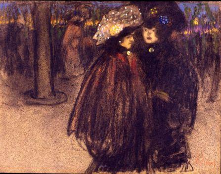 Ralmon Pichot, Promenade sur les Boulevards, 1892