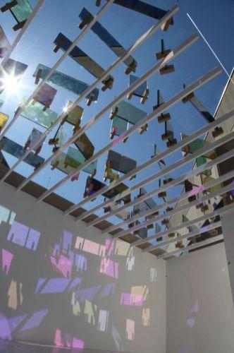Model of Raphael Heftis permanent installation at the Fondation Vincent van Gogh Arles