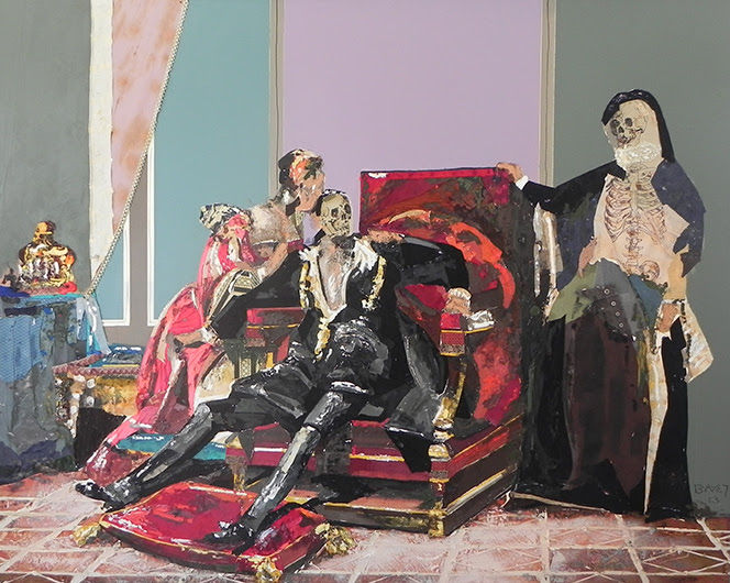 La Mort de Charles IX   200x250 cm
