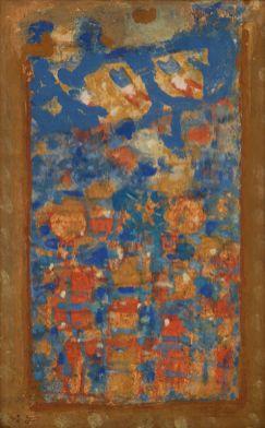 Roger Bissière, 8 juin 1963 (journal en image), collection particulière, Paris © Jean-Louis Losi, Paris © ADAGP Paris 2014