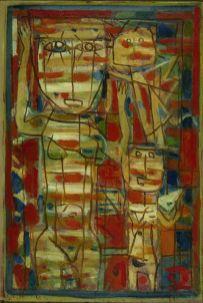 Roger Bissière, Venus blanche, 1946, Fondation Gandur pour l'art, Genève © studio Muller © ADAGP Paris 2014