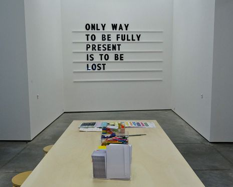 Mikko Kuorinki, Wall Pice with 200 Letters, 2011