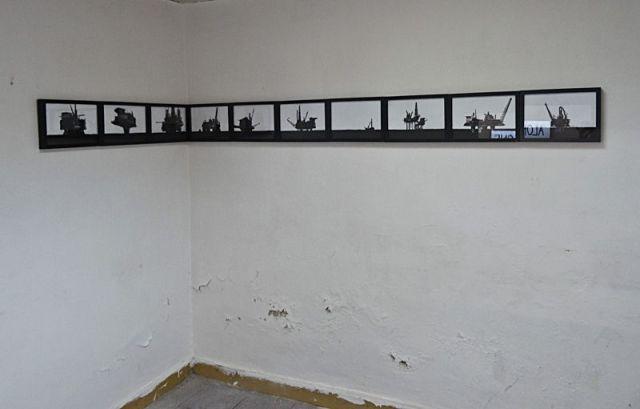 Timothée Talard, OffShore, 2013. Galerie Gourvennec Ogor à Marseille