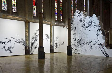 Abdelkader Benchamma, Flux, structures, contraintes et décors, 2014
