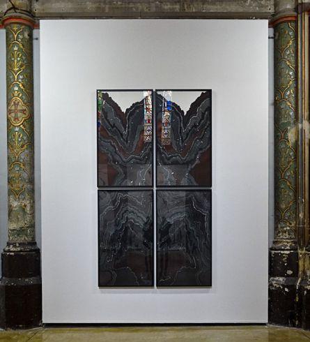 Abdelkader Benchamma, Rorschach in Marble X, 2014