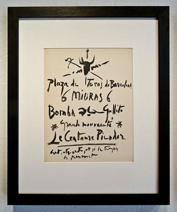 Pablo Picasso, Dos Contes: El centaure picador