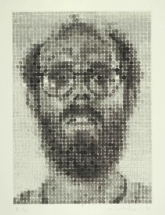 Chuck Close, Self Portrait, 1988 © Chuck Close