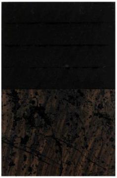 Jacques Clauzel, Circa 1999-2000, acrylique sur papier kraft marouflé sur panneau de bois, 37 x 24,5 cm