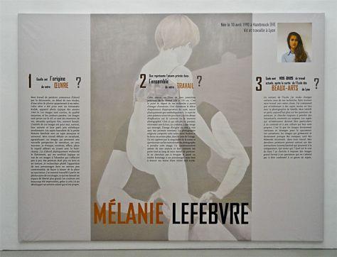 Mélanie Lefebvre, Prix Felix Sabatier 2013 - Musée Fabre, Montpellier - 05_1