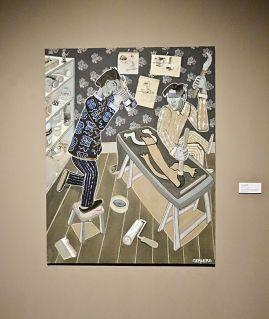 André Cervera, Art Chine