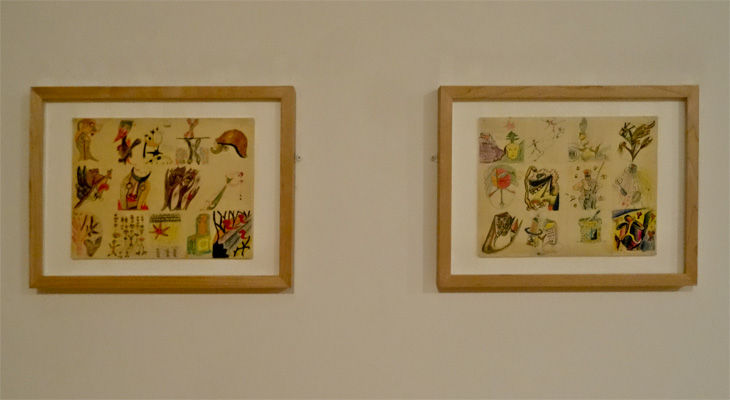 Dessins Collectifs Surréalistes - Musée Cantini, Marseille, 2014 - Slide 1_1