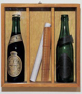 Robert Filliou, Poï-Poï Bottles, 1961