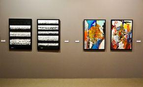 Mahmoud Zende, Images 1 et 2, 2013 ; Journal, 2013 et Gaieté, 2013 - Musée Paul Valéry