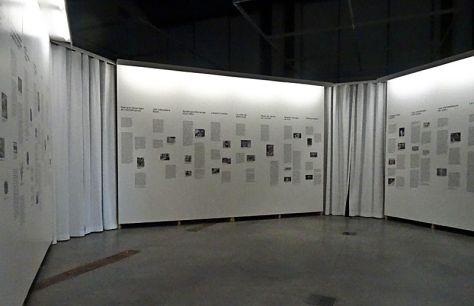 Stefanos Tsivopoulos, History Zero -Espace documentaire - Installation au MuCEM