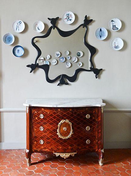 Pop Art Design - Miroir Loopy