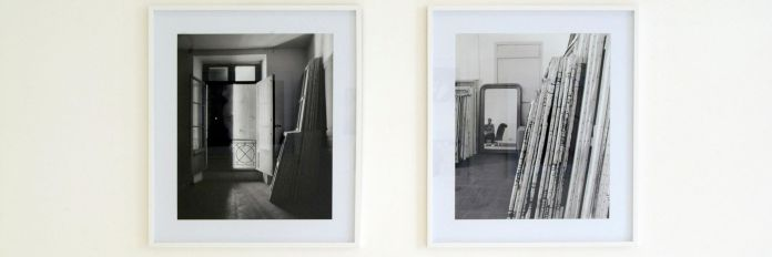 François Lagarde « Artistes et Philosophes » à la Galerie AL/MA. Photographie François Lagarde