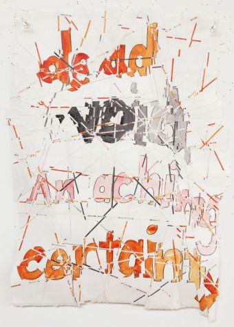 Roni Horn, Hack Wit - Dead Void, 2014