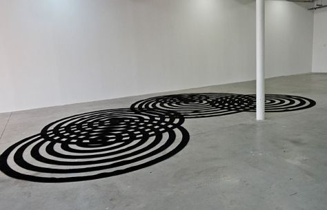Scoli Acosta, Raindrops Carpet, 2010