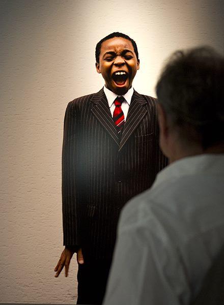 Daniel Hofer, Manuel, 2009 - His Master'Voice © La Panacée