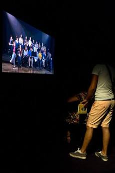 Richard Grayson The Golden Space City of God, 2009 -His Master'Voice © La Panacée