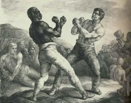 Théodore Géricault Les boxeurs, 1818