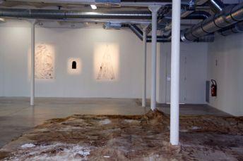Vue de l'exposition Prix des Ateliers de la Ville de Marseille, à la Friche de la Belle de mai