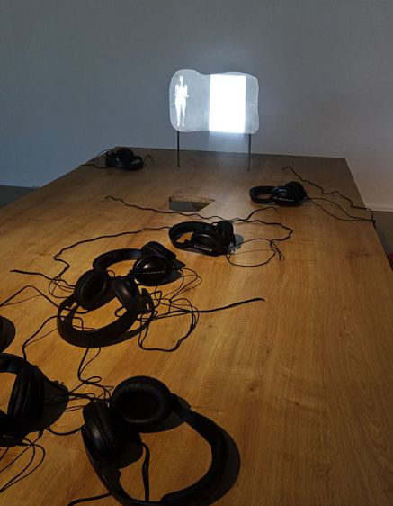 Tony Oursler, Impondérable, Rencontres 2015, Arles - Vue exposition