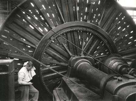 Dépôt de matériel, Ateliers de construction mécanique Oerlikon (MFO), années 1930