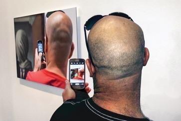Nicholas Knight, « Taking pictures » (Les amants), 2014